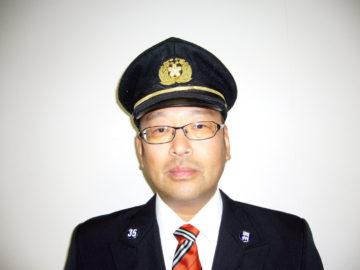 第35分団長 阿部剛