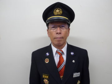 水沢副方面隊長 鈴木晃