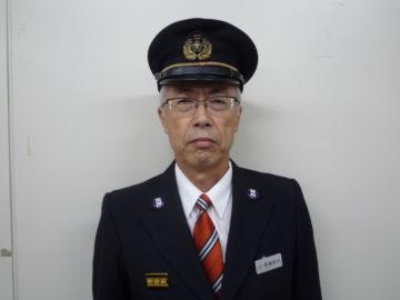 水沢方面隊副本部長 髙橋昭夫