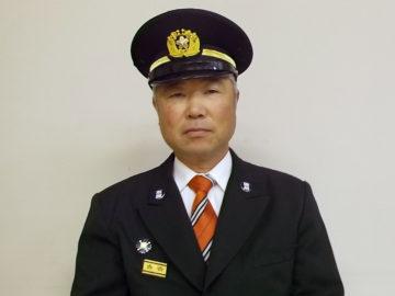 前沢方面隊長 阿部健一